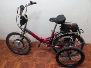 Электровелосипед. Veloezda.ru